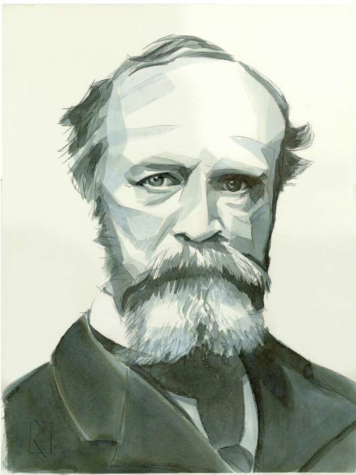 """William James (1842-1910), an American philosopher, wrote """"The Pluralistic Universe"""" and """"Varieties of Religious Experience and other books."""