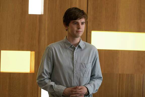 "Freddie Highmore in ""The Good Doctor."" (ABC/Liane Hentscher)"