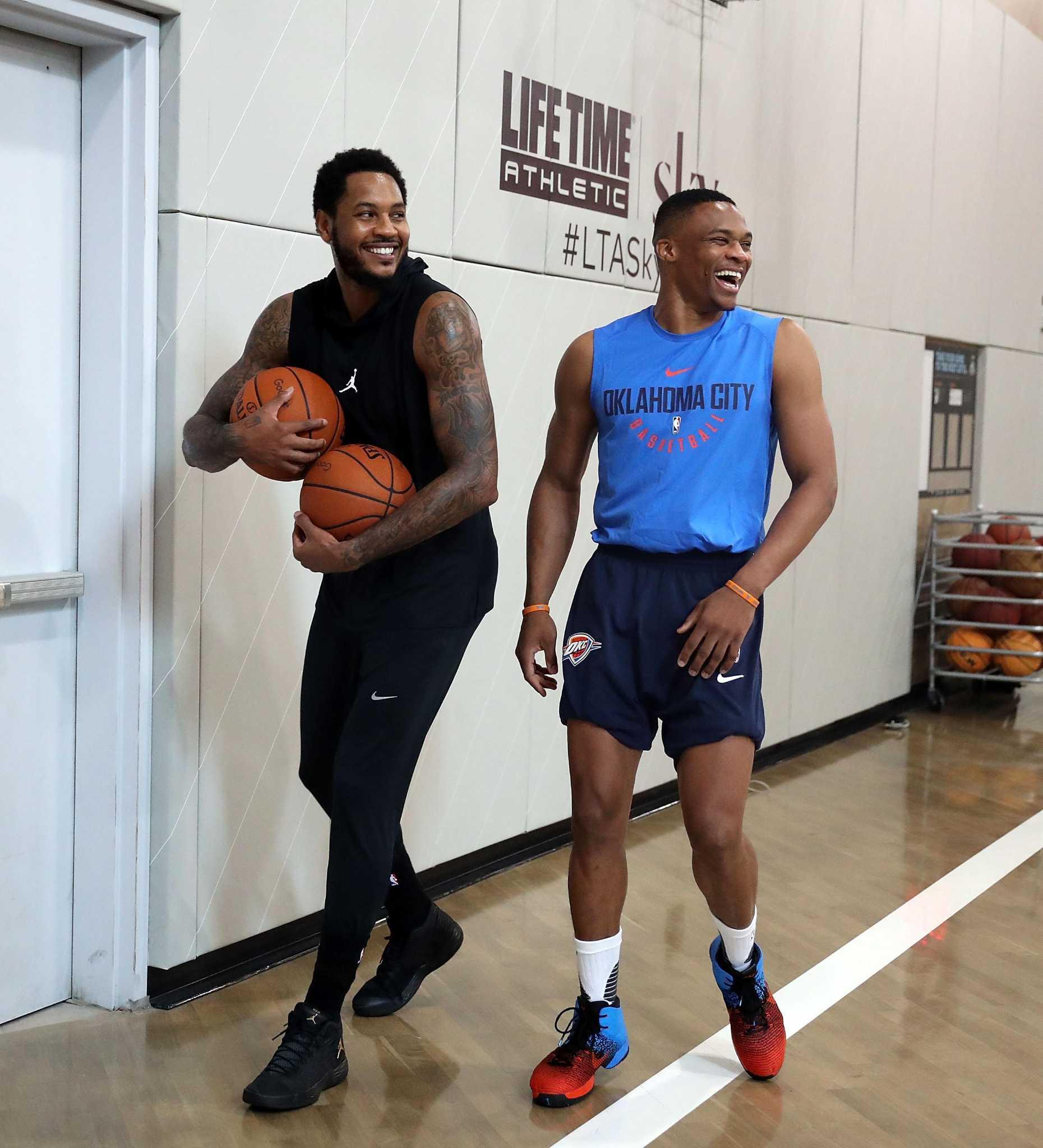 3e0b36b6c Knicks agree to trade Carmelo Anthony to Thunder - SFGate