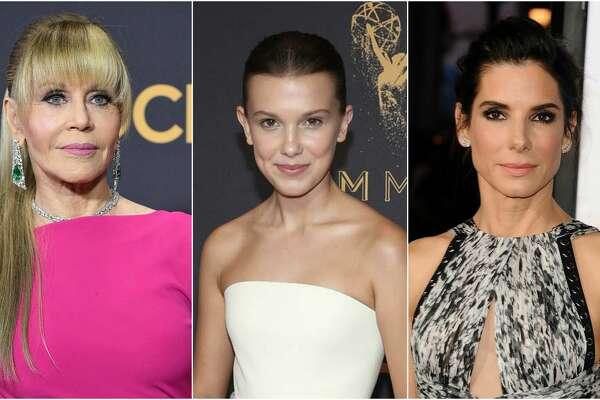 Jane Fonda, Millie Bobby Brown, Sandra Bullock