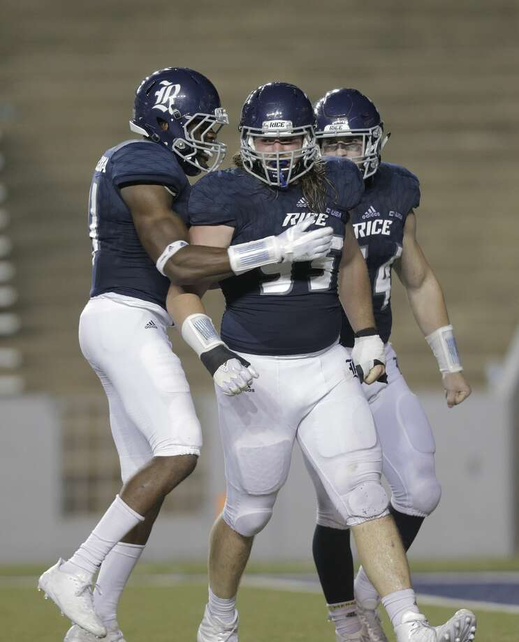 Rice's defense is tied for fourth in the NCAA with 13 sacks. Their next opportunity to add to that total is Saturday morning at Pittsburgh. Photo: Elizabeth Conley/Houston Chronicle