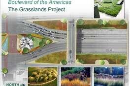 The proposed design would convert San Dario Avenue and Santa Ursula Avenue into boulevards.