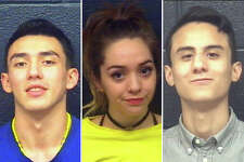 Police arrested a trio in connection with the case: From left to right, Bryan Bouquet, 18, Amber Rodriguez, 18, and Ulysses Rojas, 18.