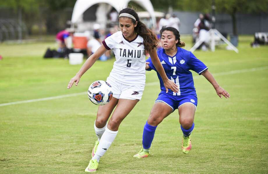 Brenda Garcia is one of two seniors playing the final games of their career this week as the Dustdevils host St. Edward's and Dallas Baptist to close the regular season. Photo: Danny Zaragoza /Laredo Morning Times File / Laredo Morning Times