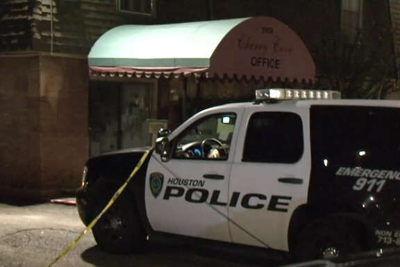 A man was shot in the face by Cherry Cove Apartments.