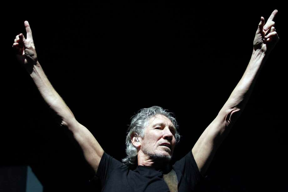 Roger Waters, a founding member of the band Pink Floyd, seen performing at the Times Union Center in Albany, N.Y. in  2012. Waters came back for another performance Saturday, Sept. 23, 2017.(Dan Little / Special to the Times Union) Photo: Dan Little / 00018264A