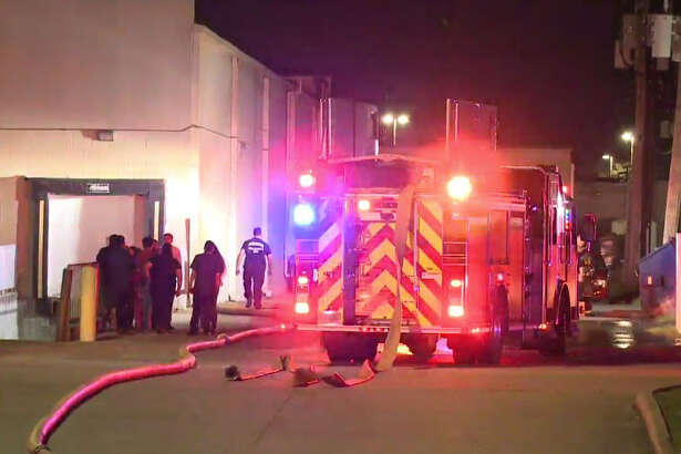 Firefighters in Atascocita responded to a blaze at the Tin Roof BBQ.