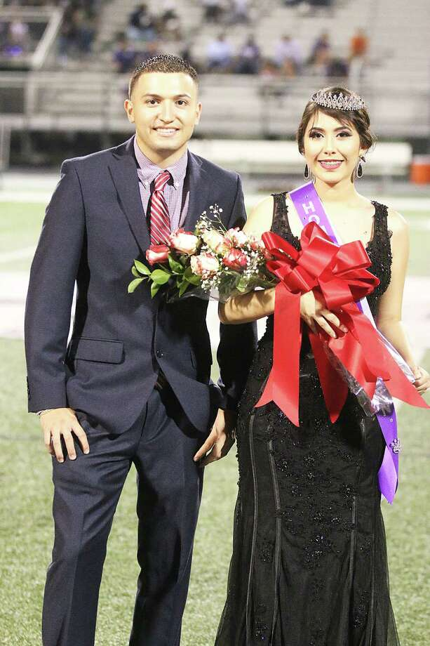 Daniella Serna was announced as the 2017 Senior Class Homecoming Queen during homecoming ceremonies at halftime of the Dayton vs. Humble football game last Friday night. The Broncos won the game, 28-20. Photo: David Taylor