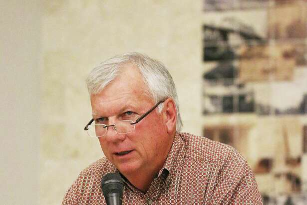 Trinity Valley Exposition Chairman Phil Fitzgerald spoke to Liberty-Dayton Chamber of Commerce members last Wednesday about preparations for the fair in October.