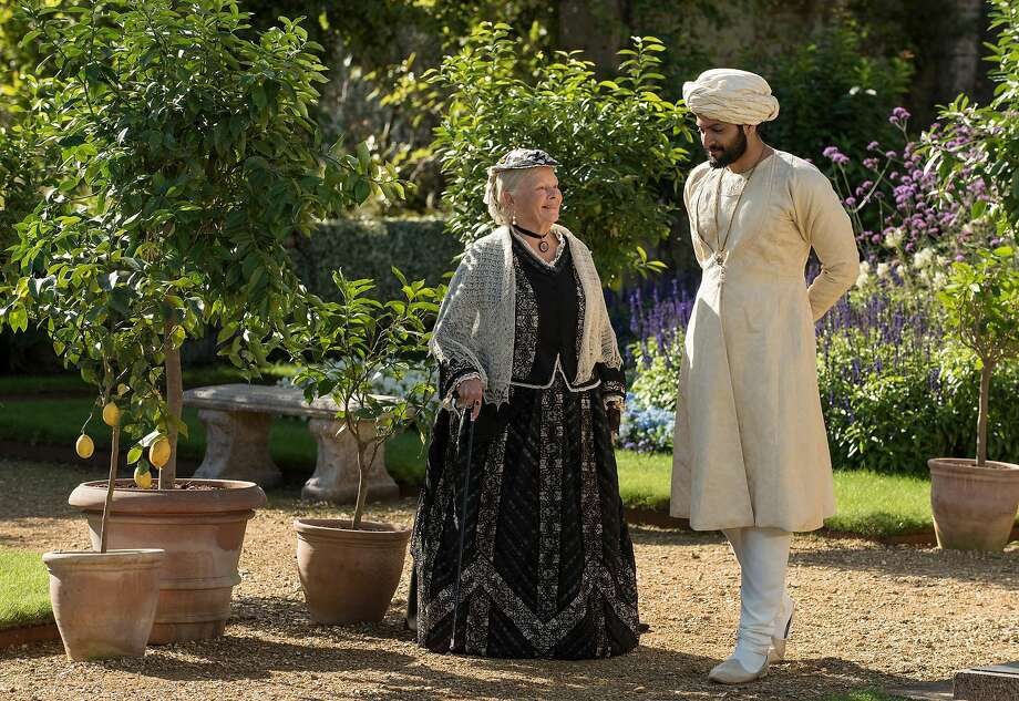 "Judi Dench and Ali Fazal in ""Victoria and Abdul."" (Focus Features) Photo: Peter Mountain / Focus Features, TNS"