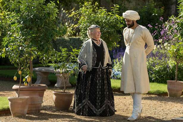 "Judi Dench and Ali Fazal in ""Victoria and Abdul."" (Focus Features)"