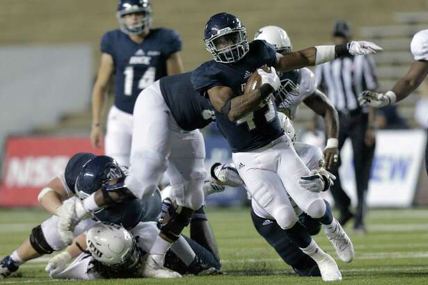 Rice running back Samuel Stewart struggled to find space to operate in Saturday's loss to Florida International, finishing with 35 yards on 11 carries.