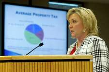 Tax Assessor Collector Tammy McRae will provide information to the Montgomery County Commissioners Tuesday regarding the court's resolution calling for the reappraisal of Harvey damaged homes in the county.
