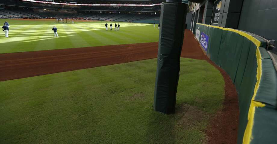 Tal's Hill in the center field, will be going away after this season at Minute Maid Park, Thursday, Sept. 22, 2016 in Houston.  ( Karen Warren / Houston Chronicle ) Photo: Karen Warren/Houston Chronicle