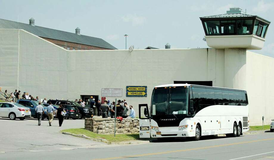 Ben Stiller and his crew rolled into Clinton County the week of Aug. 20, 2017, to begin filming an eight-part Showtime miniseries on the 2015 Clinton County Correctional Facility in Dannemora. (J.P. Cerone/Special to the Times Union) Photo: J.P. Cerone/Special To The Times Union