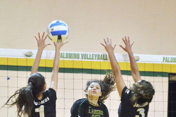Laredo Community College's Isela Murillo and the Palominos went a perfect 4-0 during the Border Classic on Friday and Saturday.