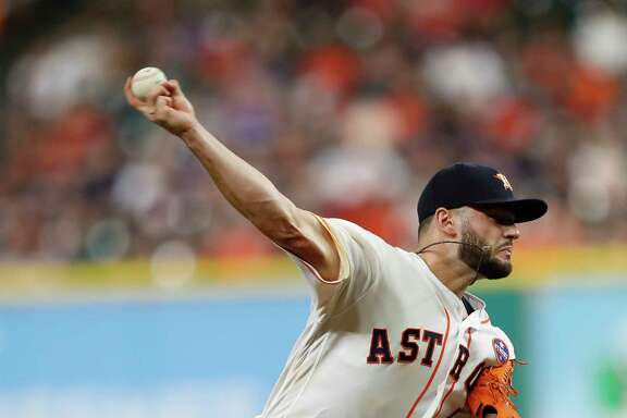 Lance McCullers Jr. didn't make it through the fourth inning against the Angels on Sunday but is capable of providing a playoff spark.