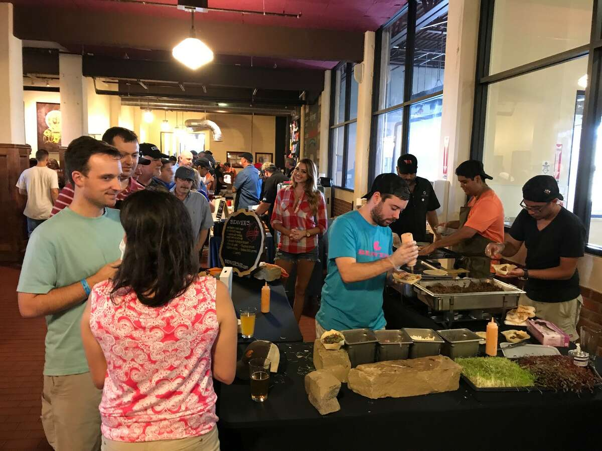 The 2017 Houston BBQ Throwdown was held Sept. 24 at Saint Arnold Brewing. The sold-out competition challenged 14 barbecue teams to creat the