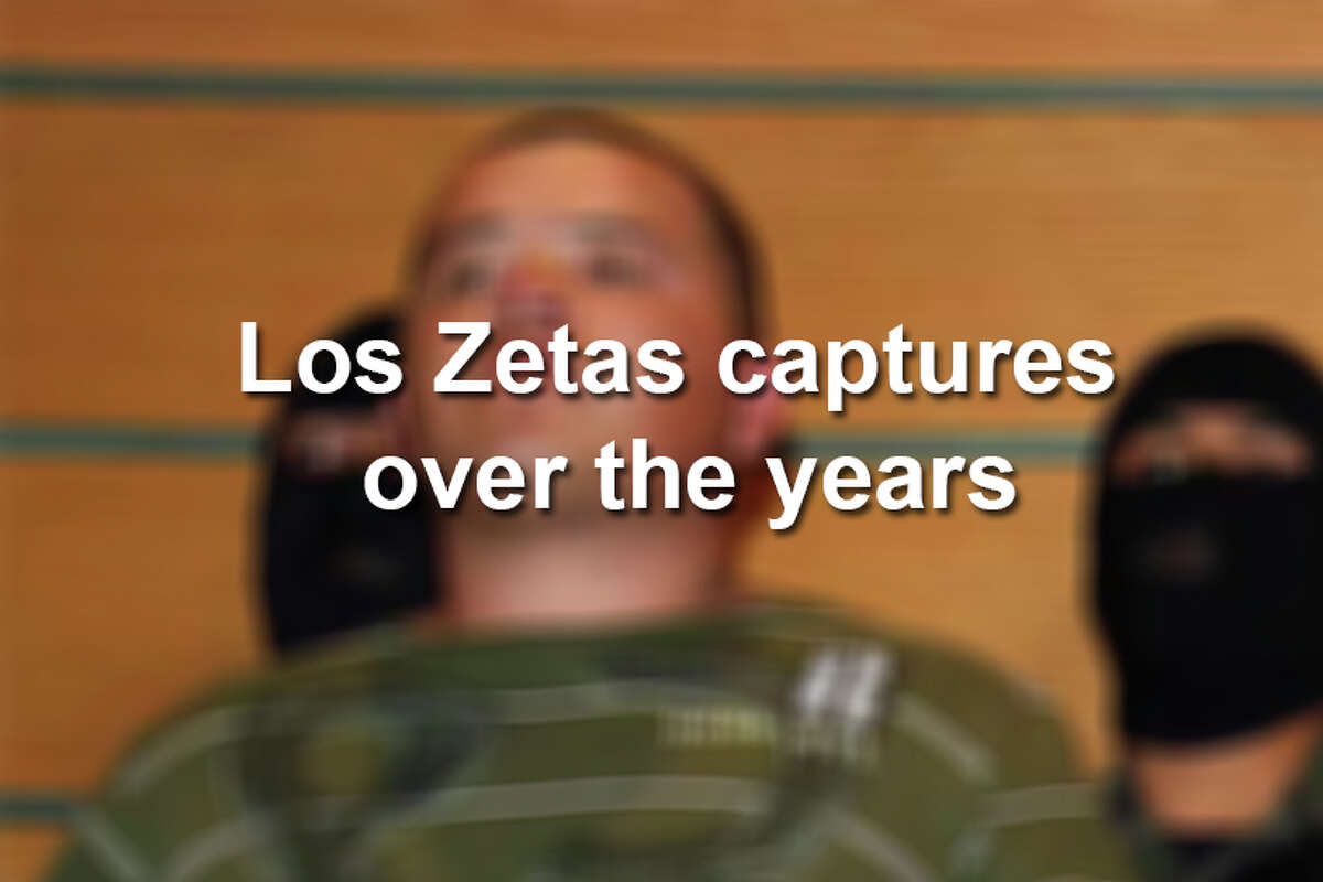 Click through the following gallery to see Zetas cartel members captured through the years.