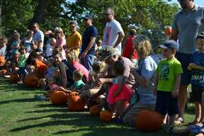 Pumpkins rolled through Caseville over the weekend for the city's annual Pumpkin Festival.