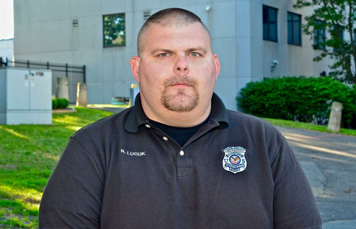 Employees like VA police Lt. Richard Lucuk now carry Narcan to assist veterans suffering from an opioid overdose