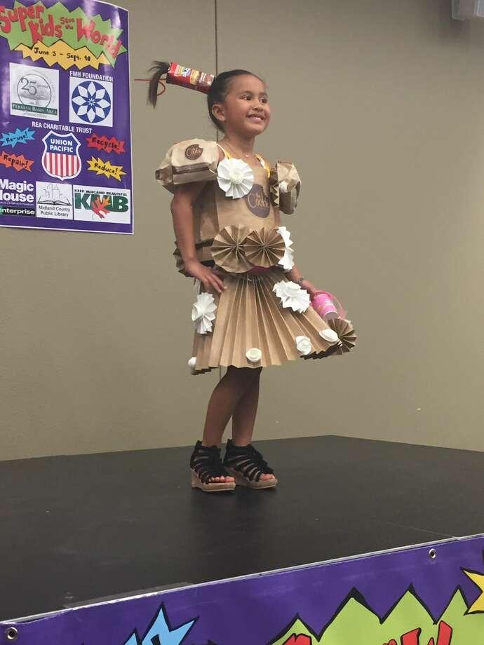 Trashion Show: Mikayla Martinez Photo: Courtesy Photo