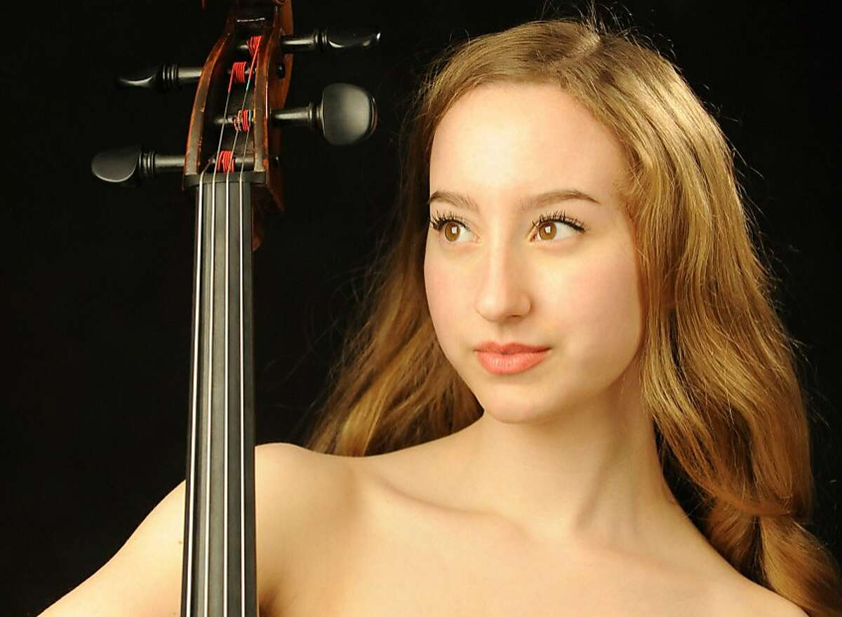 Cellist Tessa Seymour performs with the Berkeley Symphony Orchestra on Thursday, Oct. 5