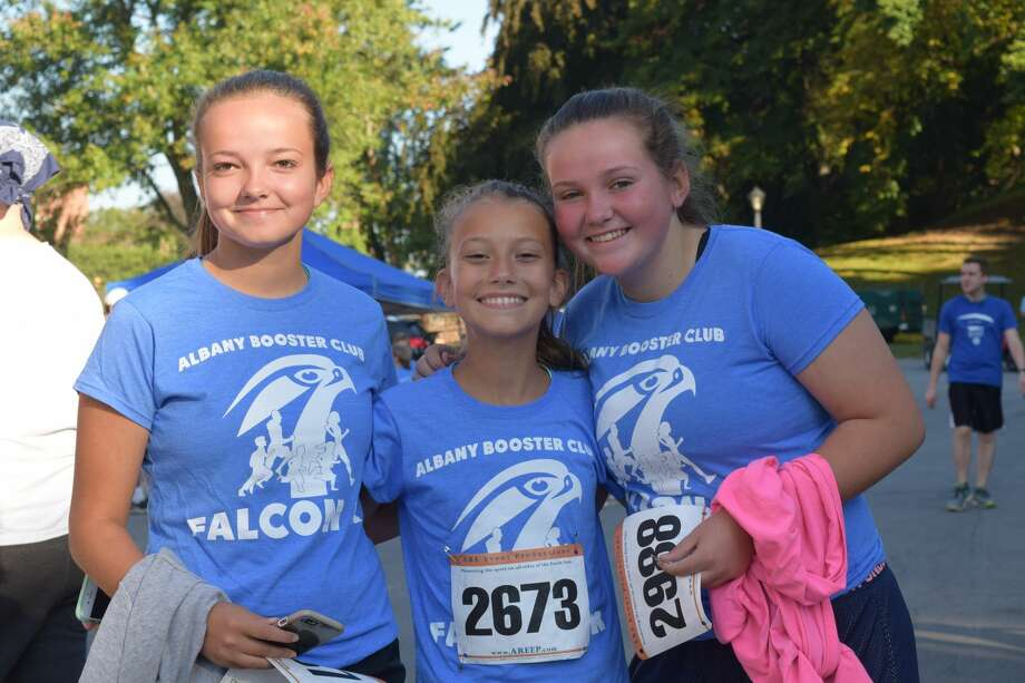 Were you Seen at the Albany Booster Club's Falcon 5K & Fun Run in Washington Park in Albany on Sunday, Sept. 24, 2017? Photo: Diane Wilson