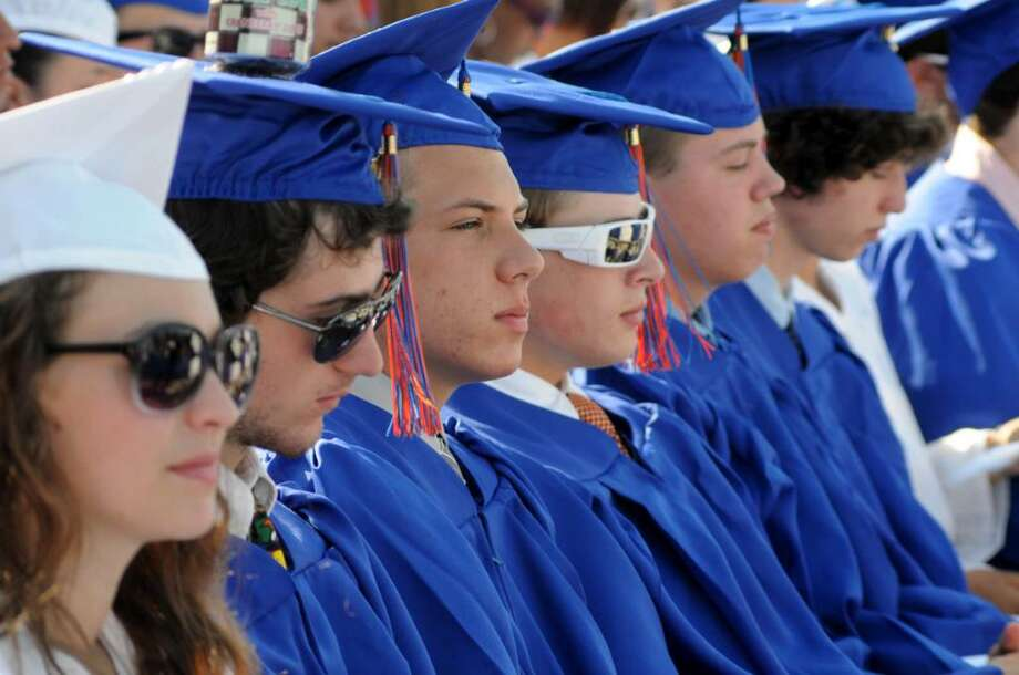 Danbury High School 2010 Commencement Exercises took place on Wednesday 23, 2010 at Danbury High School. Photo: Lisa Weir / The News-Times Freelance