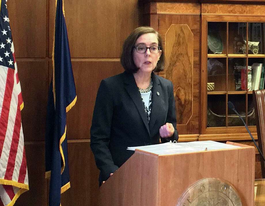 Oregon Governor Announces Her Re-Election Campaign