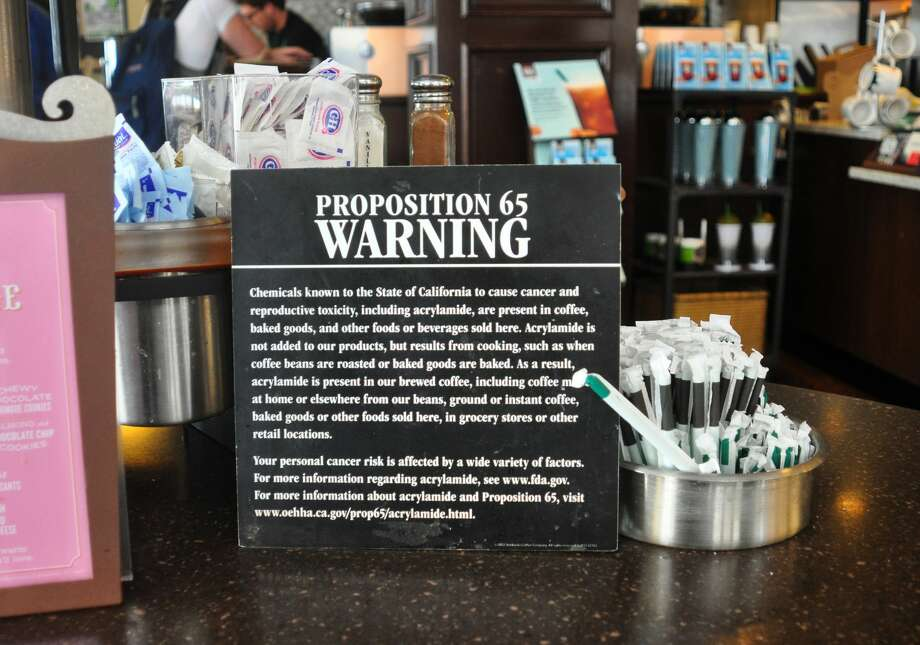Many of the coffee defendants have already posted warnings that specifically say California has determined acrylamide is among chemicals that cause cancer and attorneys have stated others, from mega-chains to mom-and-pop operations, will follow suit if the judge rules against them. Photo: Robert Alexander/Getty Images