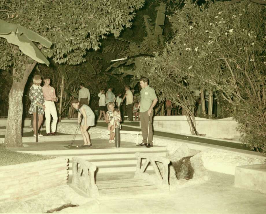 Of course Cool Crest has also been a longtime hub for family entertainment as well, as seen in this 1965 photo. Photo: Courtesy Cool Crest Miniature Golf