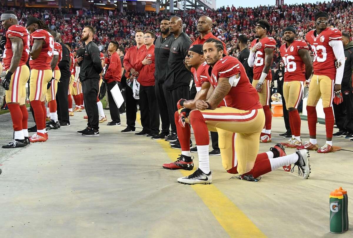 Colin Kaepernick, former NFL quarterback:
