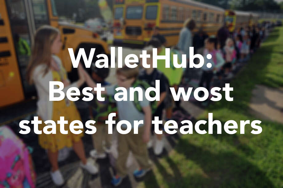 "Financial site WalletHub reports, ""In some states... teachers are more fairly paid and treated than in others. Those states are less likely to face a revolving door of teacher turnover."" Click through to see the best and worst states for teachers in 2018. Visit WalletHub for the full report.