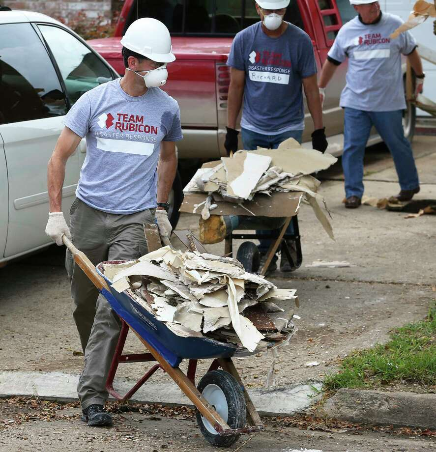 Debris removal may take months in Friendswood - Houston Chronicle