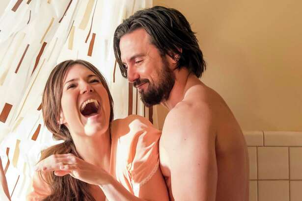 San Antonio-born actress Isabel Oliver Marcus had a lovely time on set with the stars of 'This Is Us' during shoots for the new season. Pictured: Mandy Moore and Milo Ventimiglia as spouses and parents on the NBC drama.