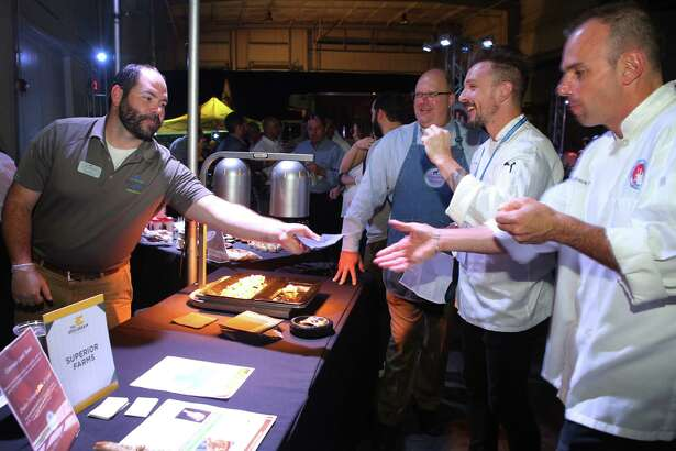 Scenes from the inuagural The Epicurean Project at Silver Street Studios. The event, sponsored by Martin Preferred Foods, will be held Oct. 4, 2017.