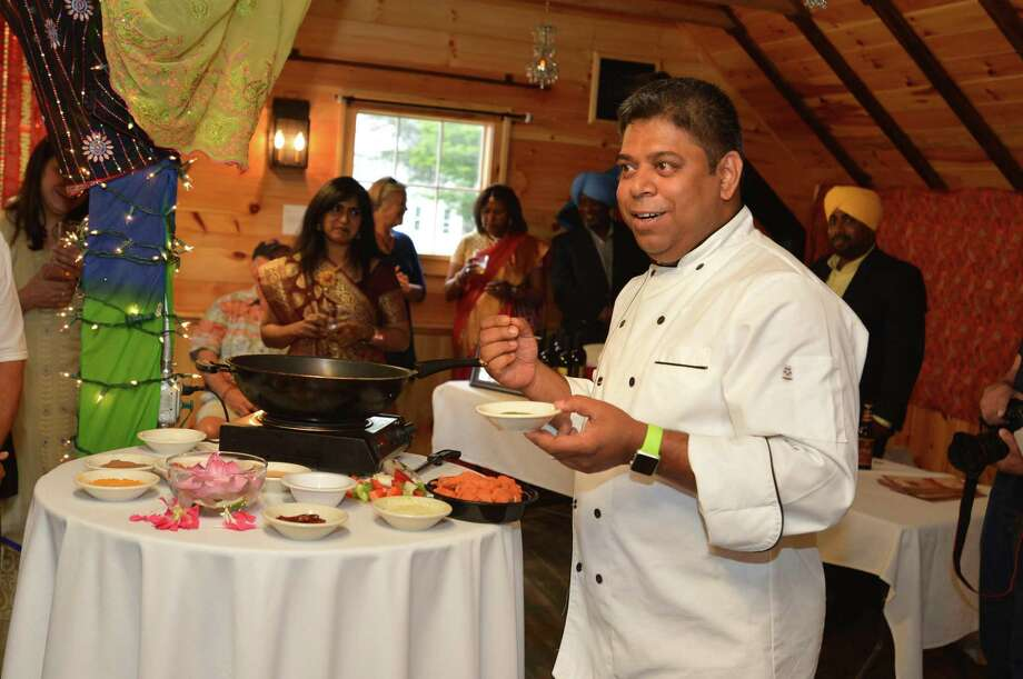 Chef Kausik Roy of Tawa restaurant in Stamford Photo: Alex Von Kleydorff / Contributed Photo / Norwalk Hour