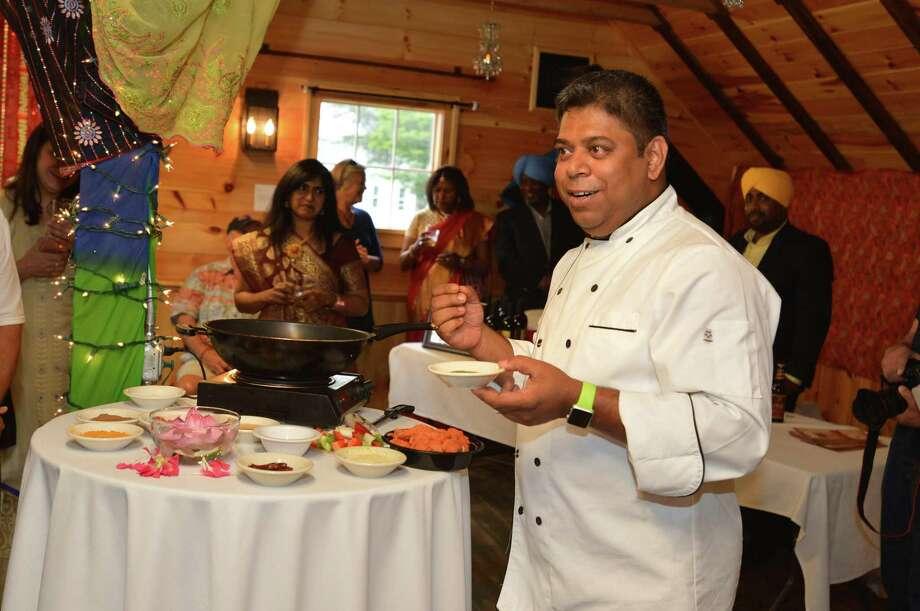 Chef Kausik Roy of Tawa restaurant in Stamford Photo: Alex Von Kleydorff / Contributed Photo / Norwalk Hour