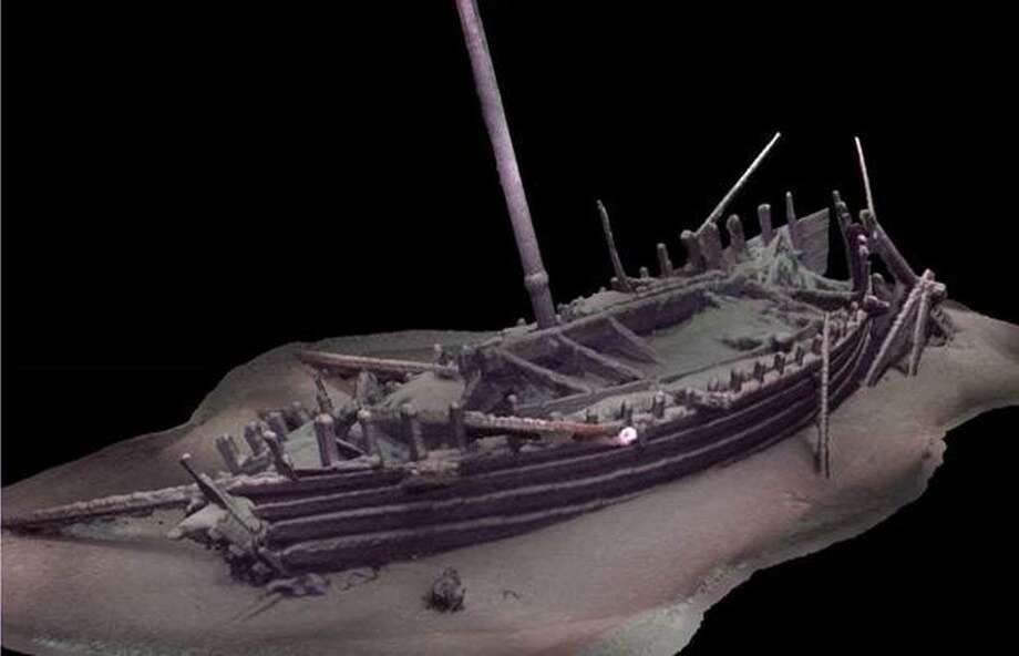 2,000-year-old Ship Found Intact by UConn Expert, Colleagues Photo: Contributed