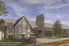A drawing of the proposed Gunnery Arts and Community Center.