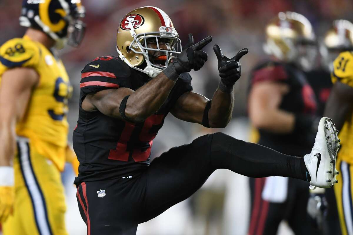 31. San Francisco 49ers (0-3)Previous: 28 Pierre Garcon had a monster game, catching seven passes for 142 yards, but he wasn't playing defense as San Francisco surrendered 41 to the Rams.