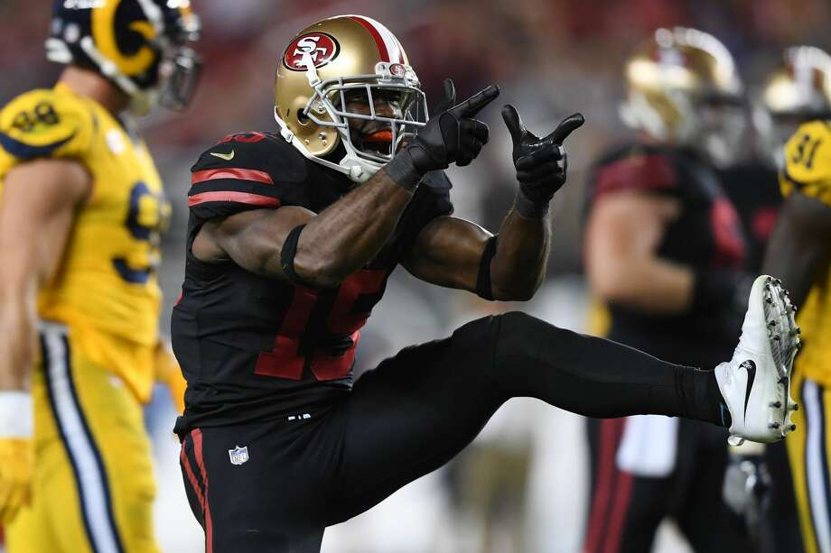 31. San Francisco 49ers (0-3)Previous: 28Pierre Garcon had a monster game, catching seven passes for 142 yards, but he wasn't playing defense as San Francisco surrendered 41 to the Rams. Photo: Thearon W. Henderson/Getty Images