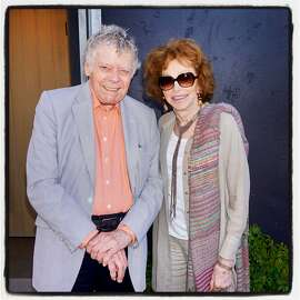 Gordon and Ann Getty at Odette Winery for their Arts+Earth Initiative fundraiser. Sept. 16, 2017.