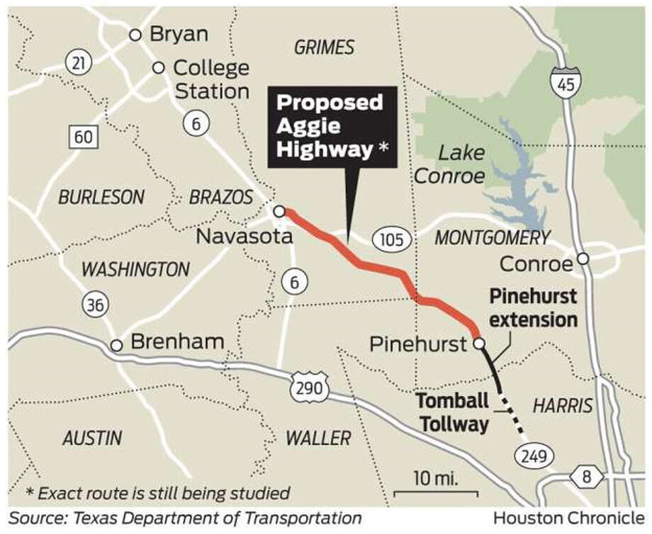 Toll Roads In Houston Map.County Swapping Land With Txdot For 249 Toll Road Right Of Way The