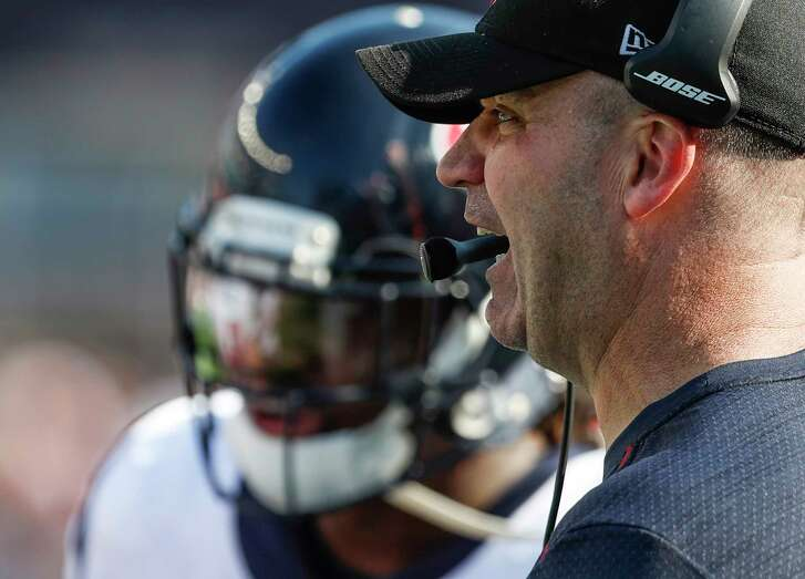 """Texans coach Bill O'Brien said Monday he has talked enough about Sunday's loss to the Patriots. """"The game's over. We're moving on to Tennessee."""""""