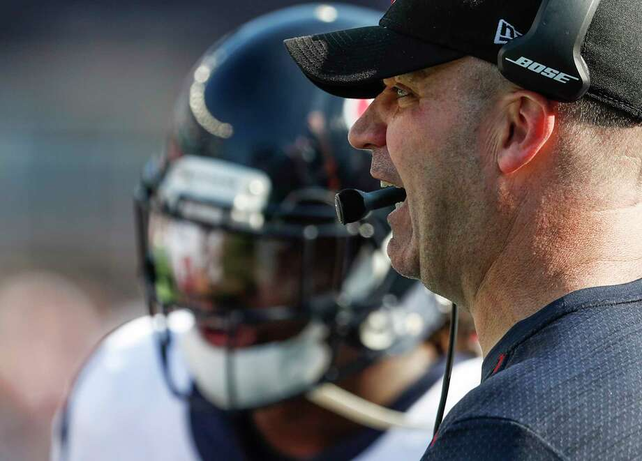 "Texans coach Bill O'Brien said Monday he has talked enough about Sunday's loss to the Patriots. ""The game's over. We're moving on to Tennessee."" Photo: Brett Coomer, Staff / © 2017 Houston Chronicle"