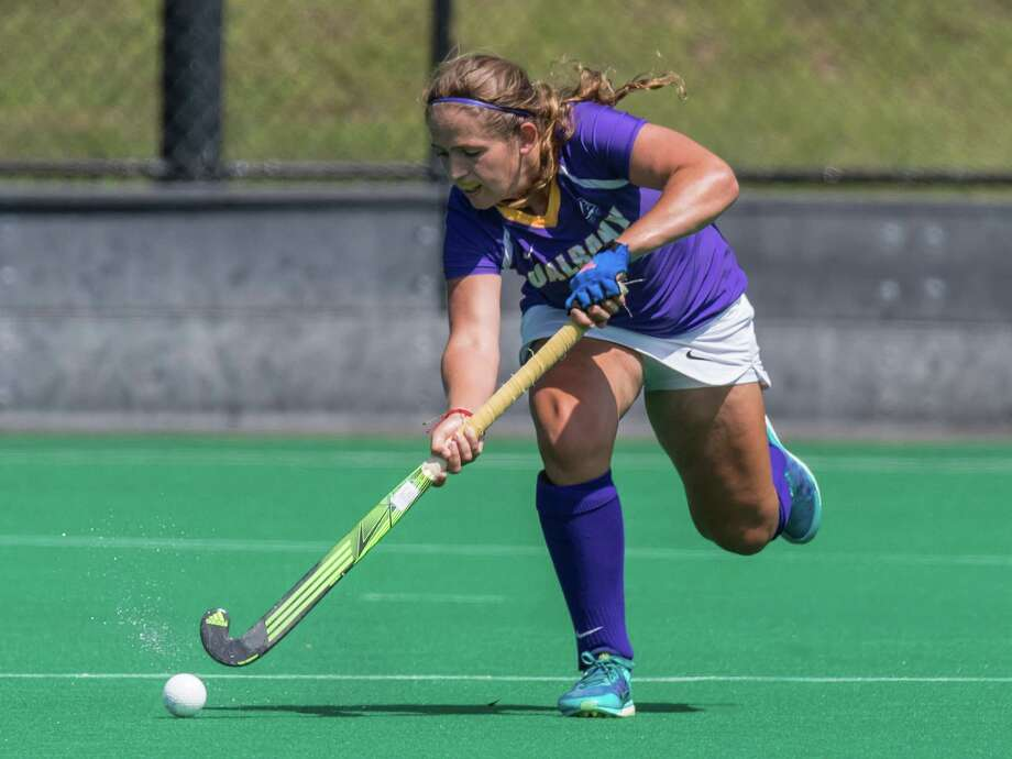 Shenendehowa graduate Anna Bottino of the UAlbany field hockey team. (Bill Ziskin / UAlbany Athletics) Photo: Bill Ziskin / (c) Bill Ziskin Photography LLC