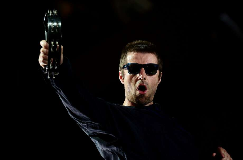 British singer Liam Gallagher performs on the fourth day of the Benicassim International Festival (FIB) in Benicasim on July 15, 2017. The Benicassim Festival Internacional of Benicassim (FIB) is a four-day music festival on the east coast of Spain between Valencia and Castellon. The FIB 2017 runs from July 13 to July 16, 2017 / AFP PHOTO / JOSE JORDANJOSE JORDAN/AFP/Getty Images Photo: JOSE JORDAN, AFP/Getty Images