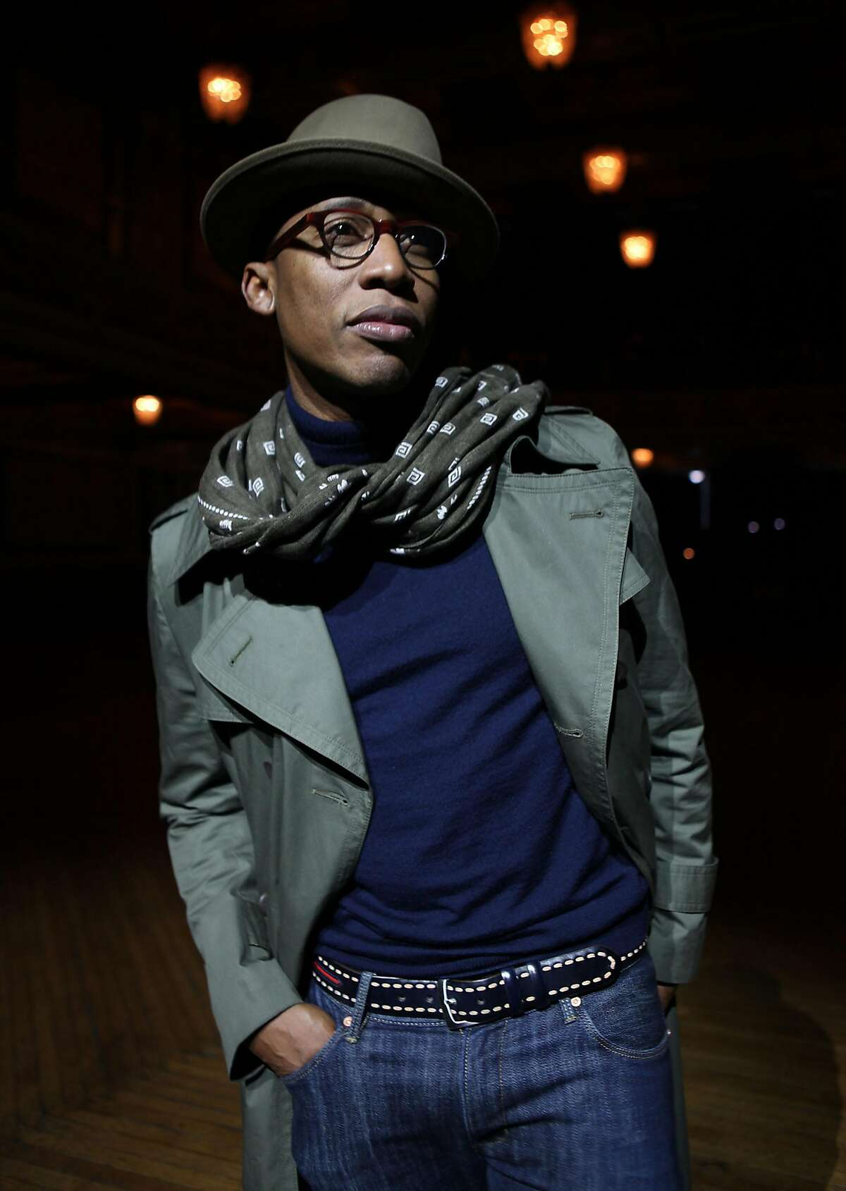 Raphael Saadiq previews his new album, Stone Rollin', with a show at the Regency Center in San Francisco, Calif., as he talks to us after a sound check on Friday, April 15, 2011.